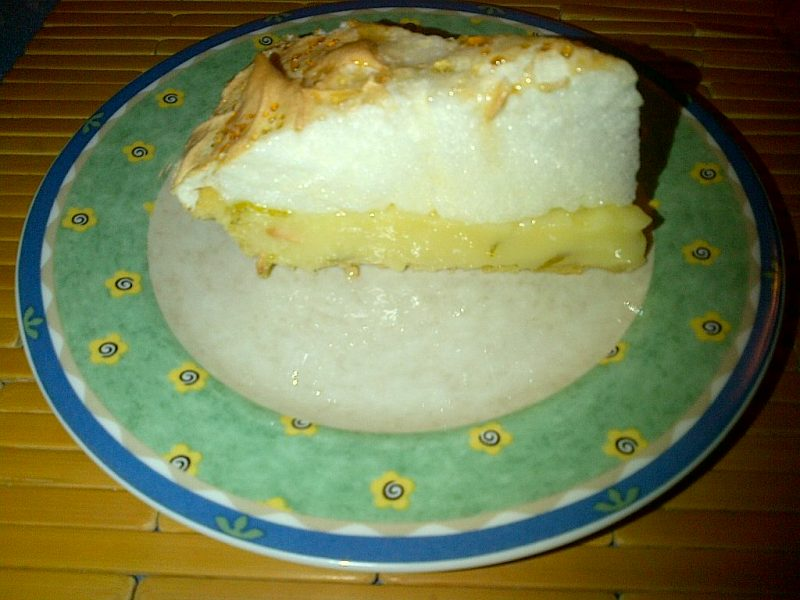 Pie de limón: T&C